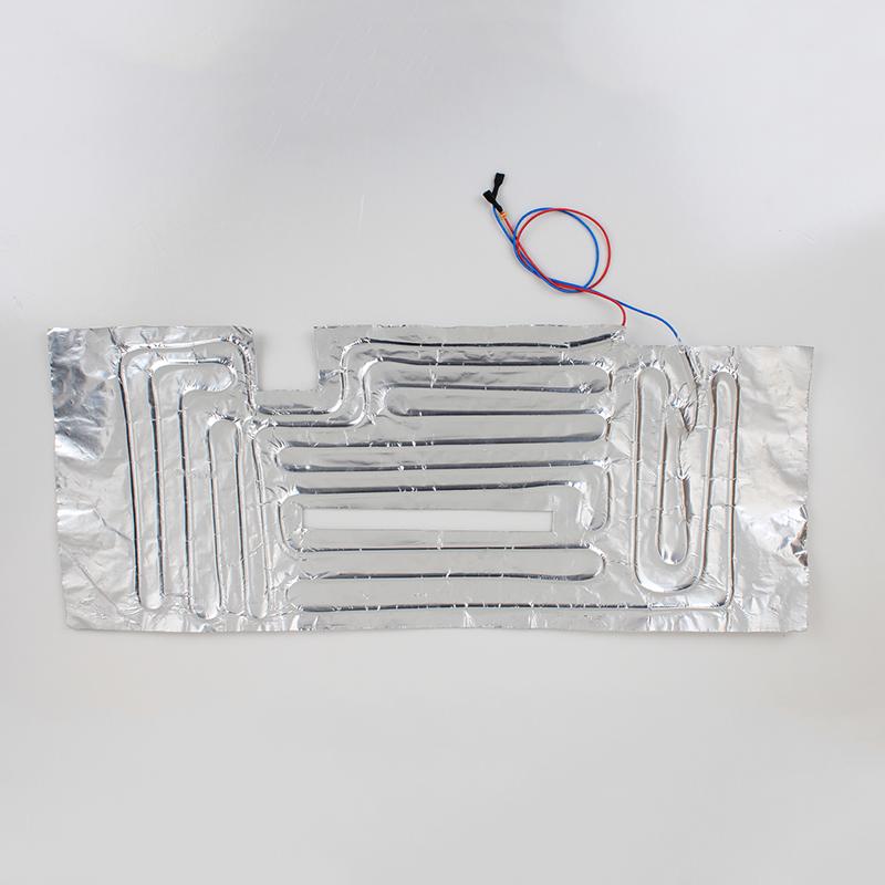 铝箔发热片是一种软性块状电加热设备